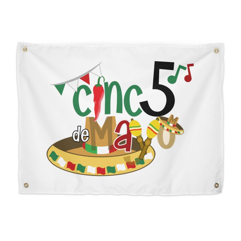 Cinco de Mayo Home Tapestry by PickaCS's Artist Shop