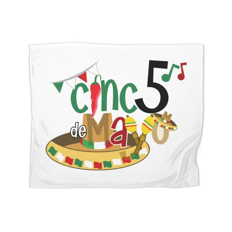 Cinco de Mayo Home Fleece Blanket Blanket by PickaCS's Artist Shop