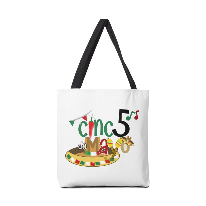 Cinco de Mayo Accessories Tote Bag Bag by PickaCS's Artist Shop