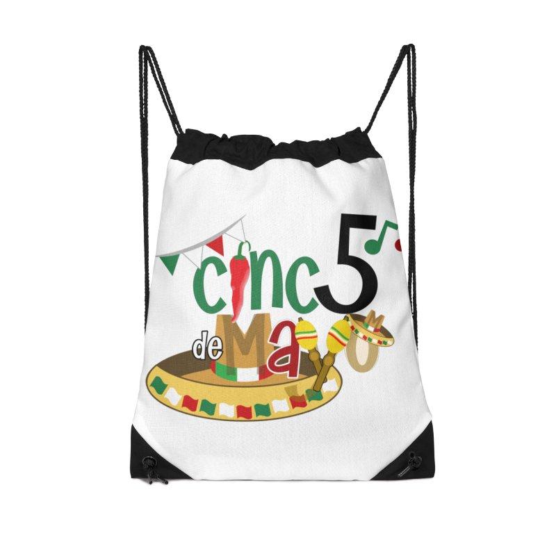 Cinco de Mayo Accessories Drawstring Bag Bag by PickaCS's Artist Shop