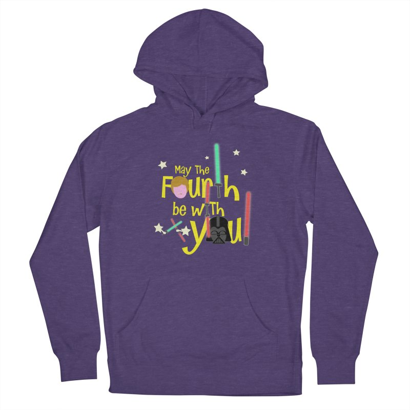 May the FOURTH... Women's French Terry Pullover Hoody by PickaCS's Artist Shop