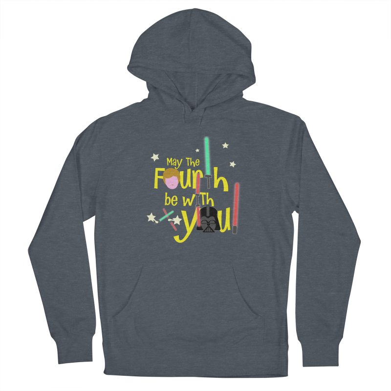 May the FOURTH... Men's French Terry Pullover Hoody by PickaCS's Artist Shop