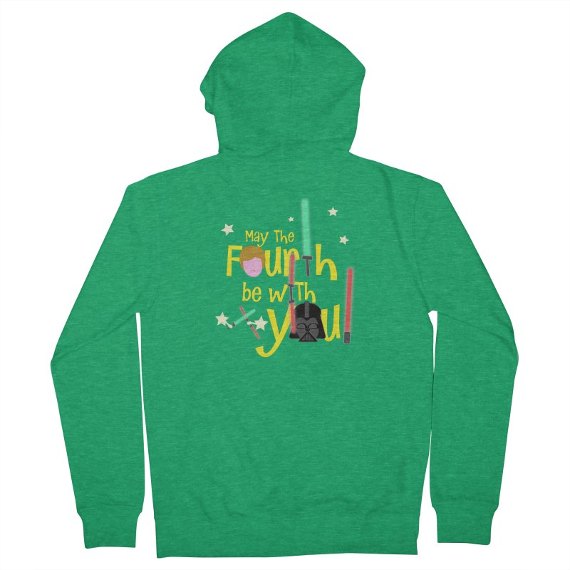 May the FOURTH... Women's Zip-Up Hoody by PickaCS's Artist Shop