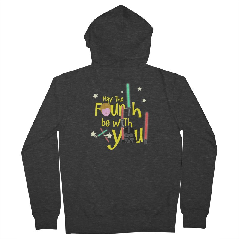 May the FOURTH... Women's French Terry Zip-Up Hoody by PickaCS's Artist Shop