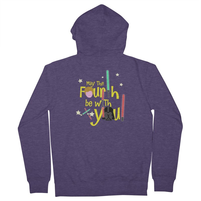 May the FOURTH... Men's Zip-Up Hoody by PickaCS's Artist Shop