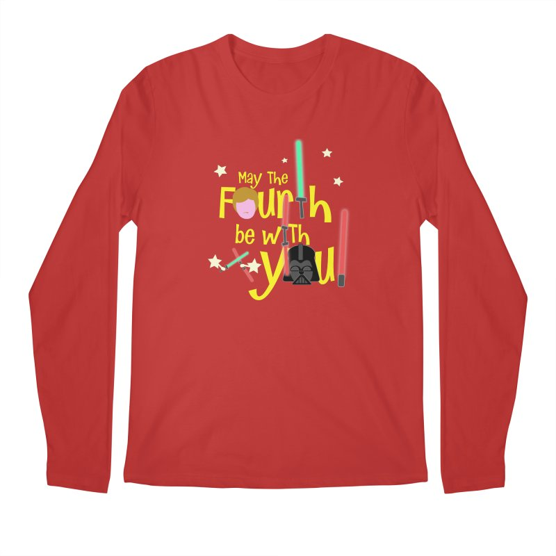 May the FOURTH... Men's Longsleeve T-Shirt by PickaCS's Artist Shop