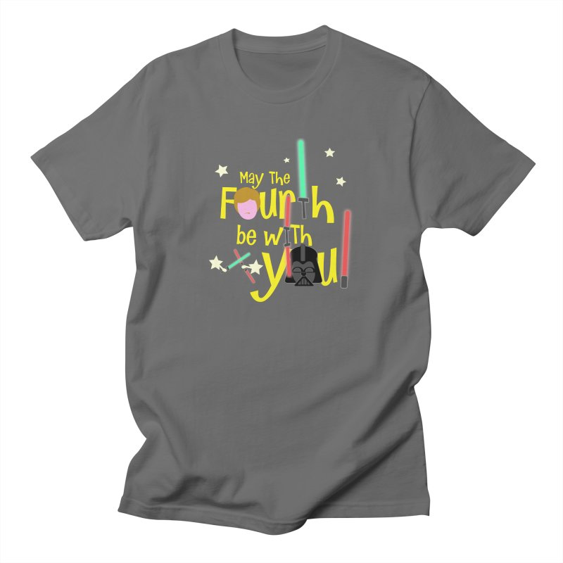 May the FOURTH... Men's T-Shirt by PickaCS's Artist Shop