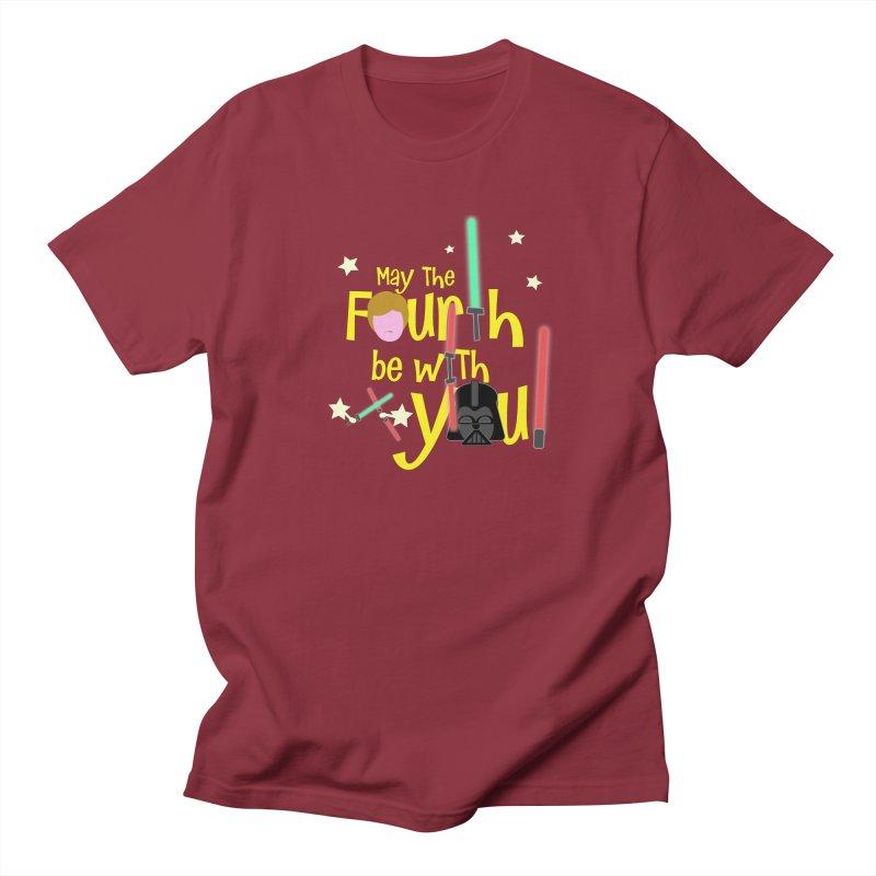 May the FOURTH... Women's Regular Unisex T-Shirt by PickaCS's Artist Shop