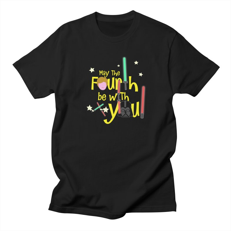 May the FOURTH... Men's Regular T-Shirt by PickaCS's Artist Shop