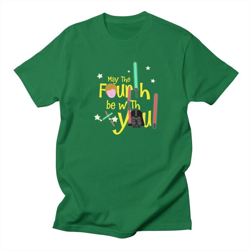 May the FOURTH... Men's Regular T-Shirt by PickaCS's Artist Shop
