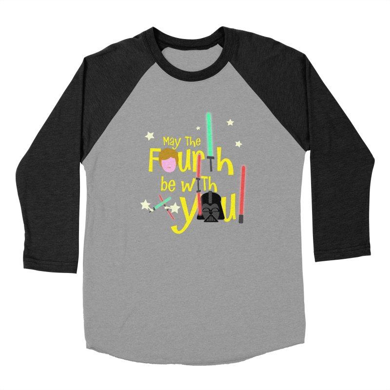 May the FOURTH... Men's Baseball Triblend Longsleeve T-Shirt by PickaCS's Artist Shop