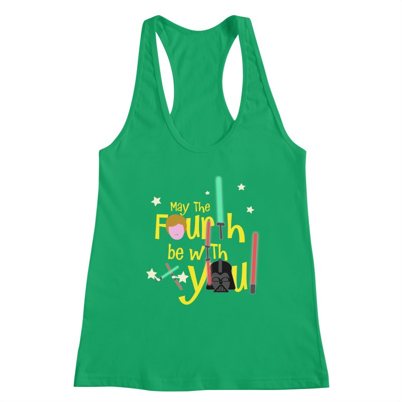May the FOURTH... Women's Tank by PickaCS's Artist Shop