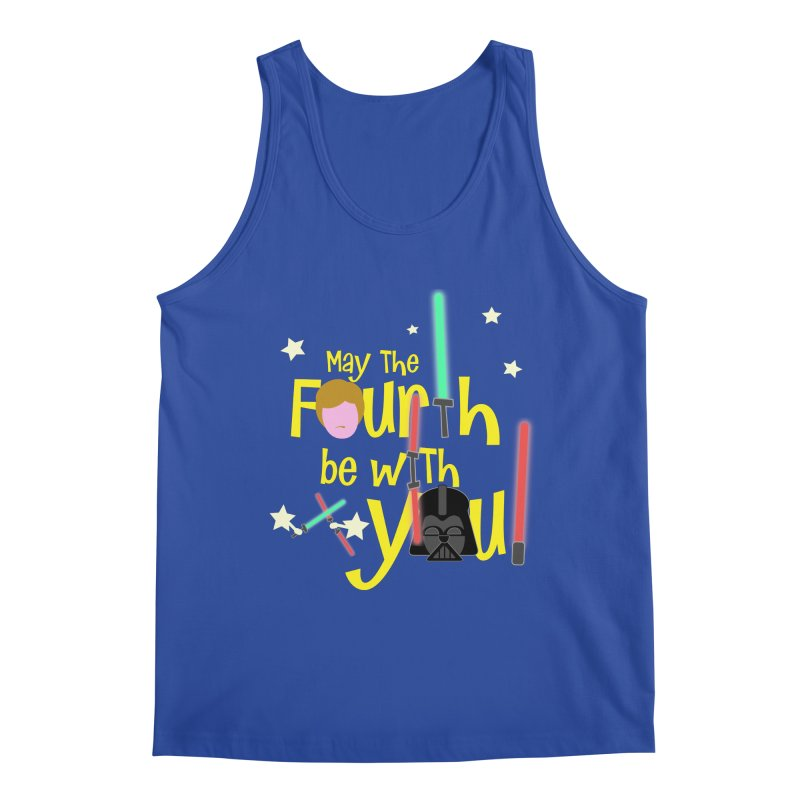 May the FOURTH... Men's Tank by PickaCS's Artist Shop