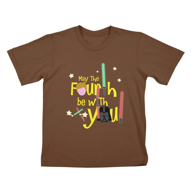 May the FOURTH... Kids T-Shirt by PickaCS's Artist Shop