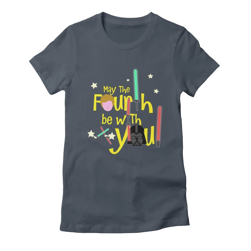 May the FOURTH... Women's T-Shirt by PickaCS's Artist Shop