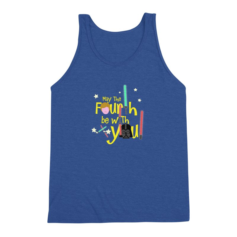 May the FOURTH... Men's Triblend Tank by PickaCS's Artist Shop