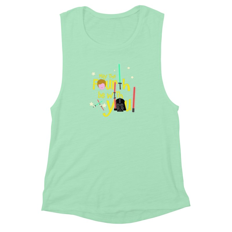 May the FOURTH... Women's Muscle Tank by PickaCS's Artist Shop