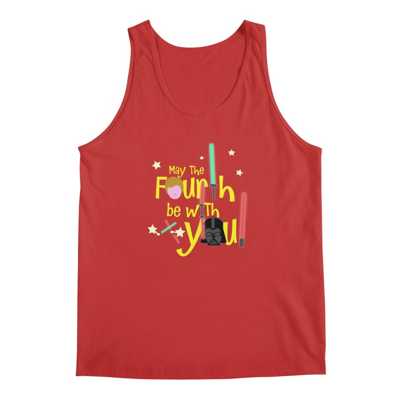 May the FOURTH... Men's Regular Tank by PickaCS's Artist Shop