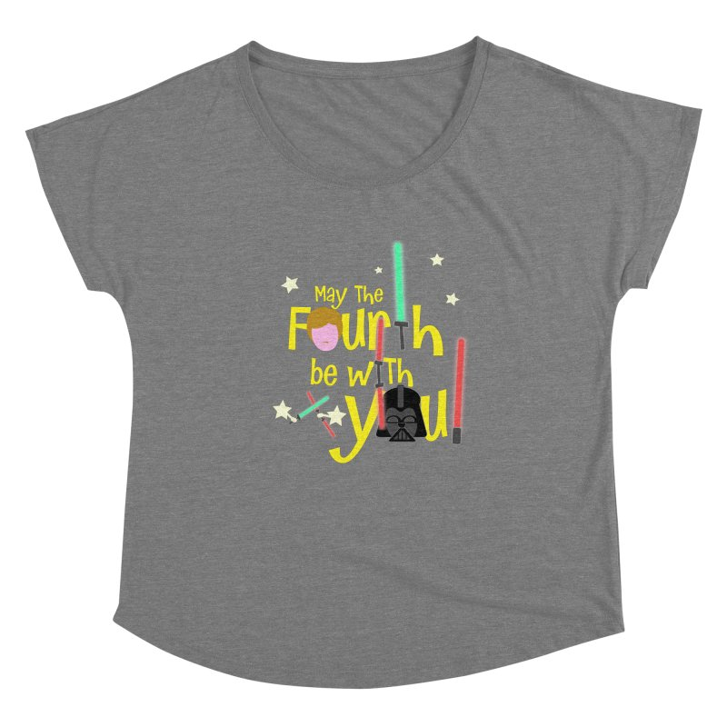 May the FOURTH... Women's Scoop Neck by PickaCS's Artist Shop