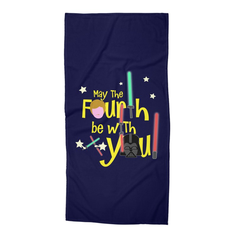 May the FOURTH... Accessories Beach Towel by PickaCS's Artist Shop