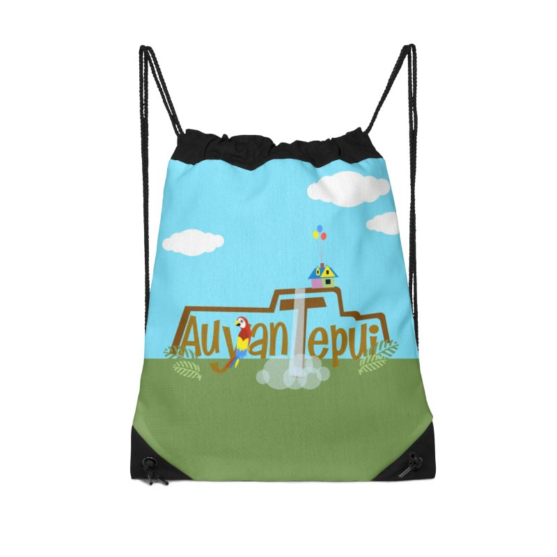 AuyanTepui Accessories Drawstring Bag Bag by PickaCS's Artist Shop