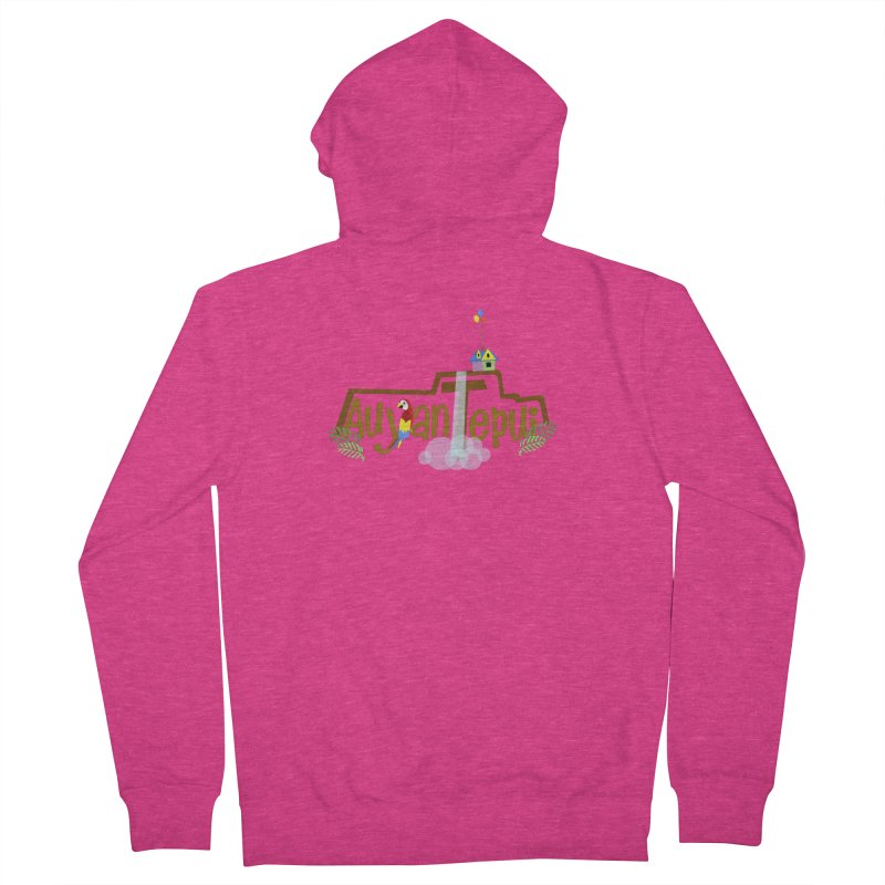 AuyanTepui Women's French Terry Zip-Up Hoody by PickaCS's Artist Shop