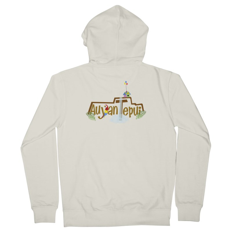 AuyanTepui Men's French Terry Zip-Up Hoody by PickaCS's Artist Shop