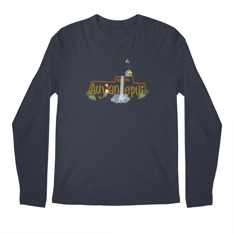 AuyanTepui Men's Regular Longsleeve T-Shirt by PickaCS's Artist Shop