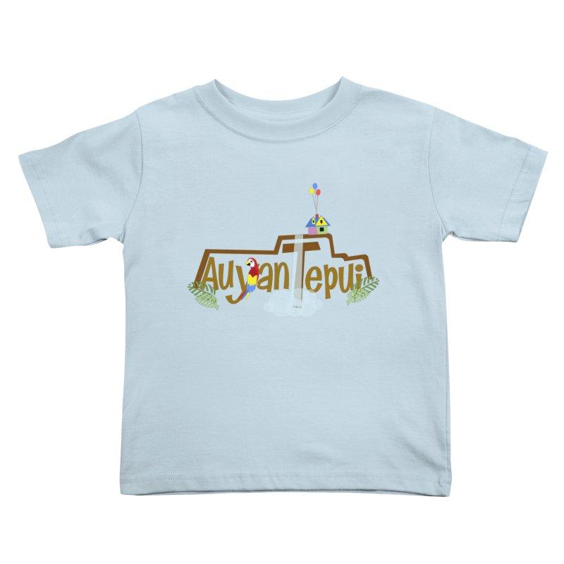 AuyanTepui Kids Toddler T-Shirt by PickaCS's Artist Shop