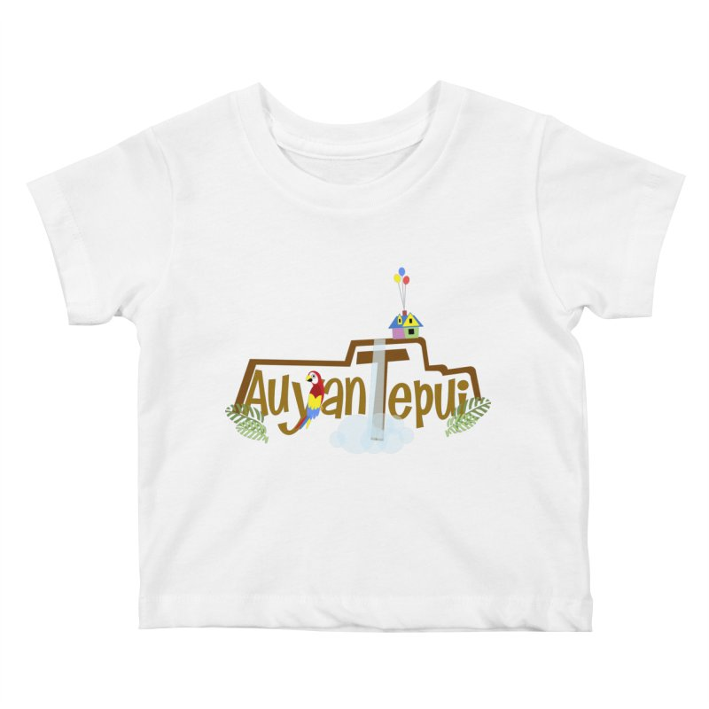 AuyanTepui Kids Baby T-Shirt by PickaCS's Artist Shop