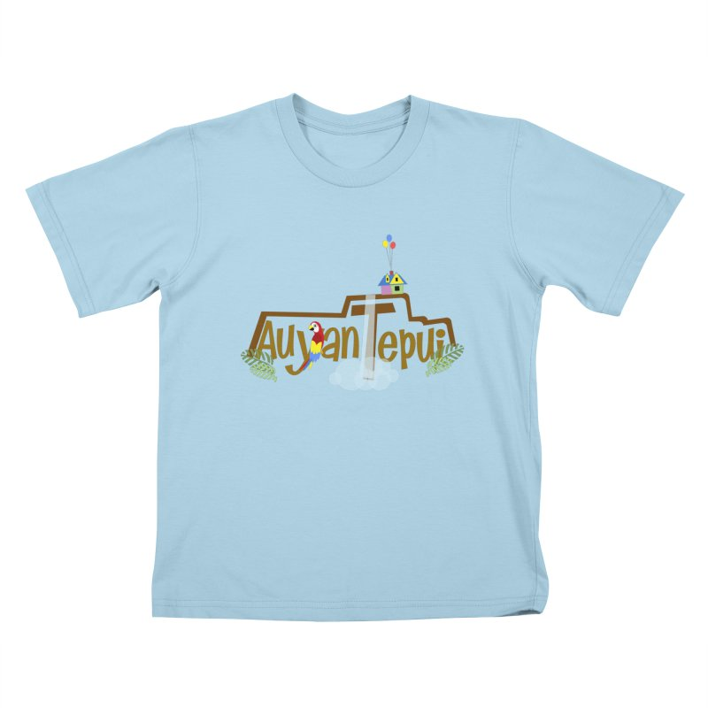 AuyanTepui Kids T-Shirt by PickaCS's Artist Shop