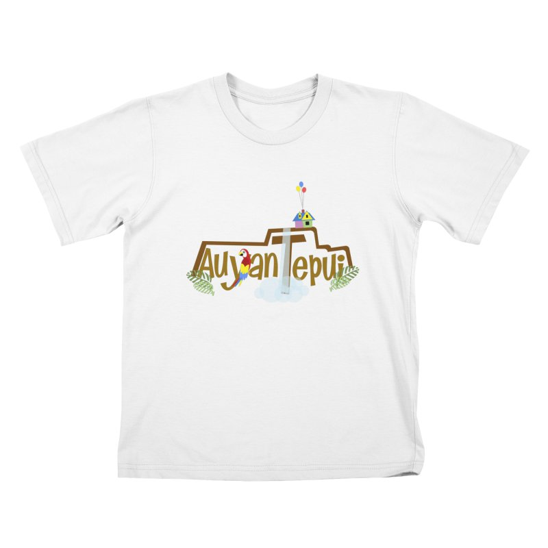 AuyanTepui Kids T-Shirt by PickaCS's Artist Shop