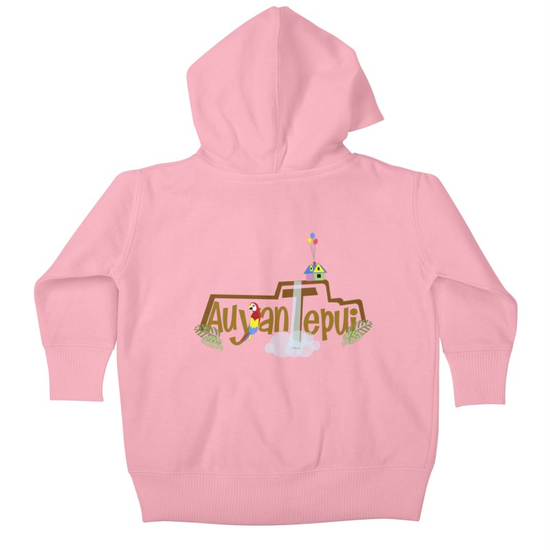 AuyanTepui Kids Baby Zip-Up Hoody by PickaCS's Artist Shop