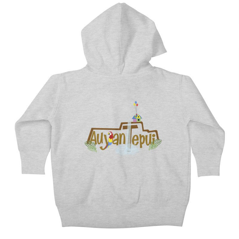 AuyanTepui Kids Baby Zip-Up Hoody by PickaCS's Artist Shop