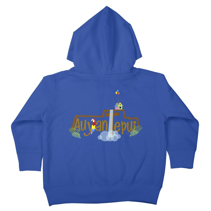 AuyanTepui Kids Toddler Zip-Up Hoody by PickaCS's Artist Shop
