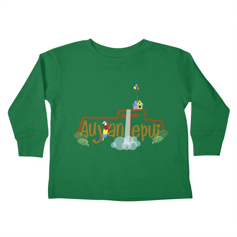 AuyanTepui Kids Toddler Longsleeve T-Shirt by PickaCS's Artist Shop