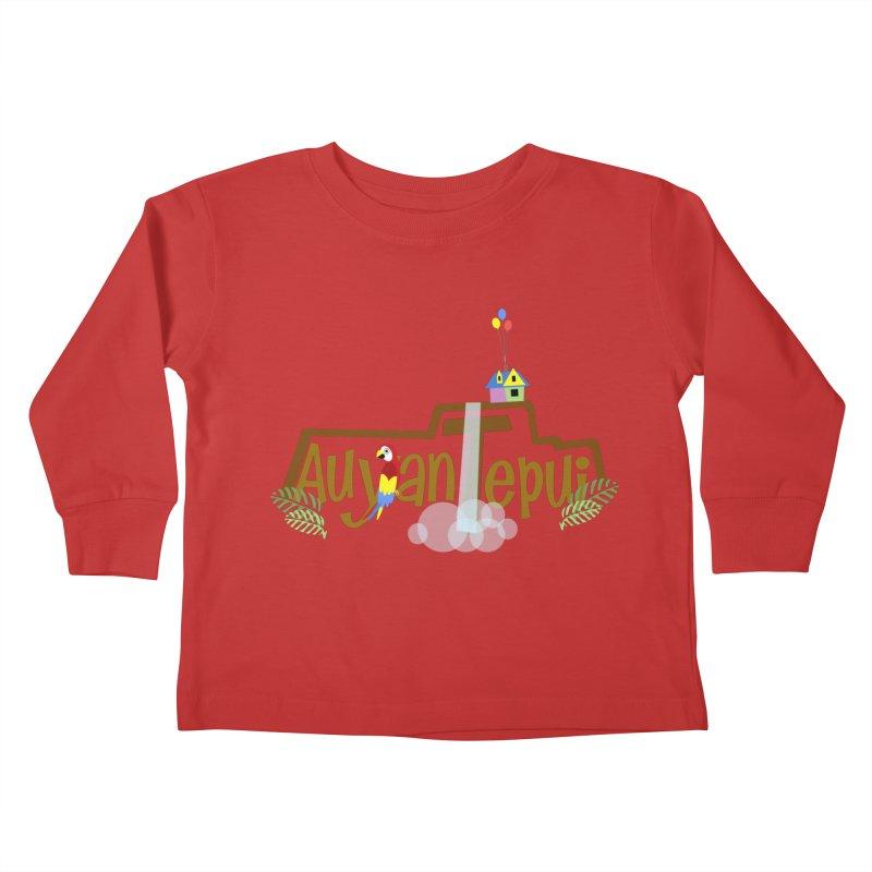 AuyanTepui Kids Toddler Longsleeve T-Shirt by PickaCS's Artist Shop