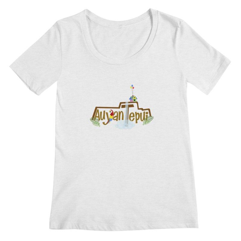 AuyanTepui Women's Regular Scoop Neck by PickaCS's Artist Shop