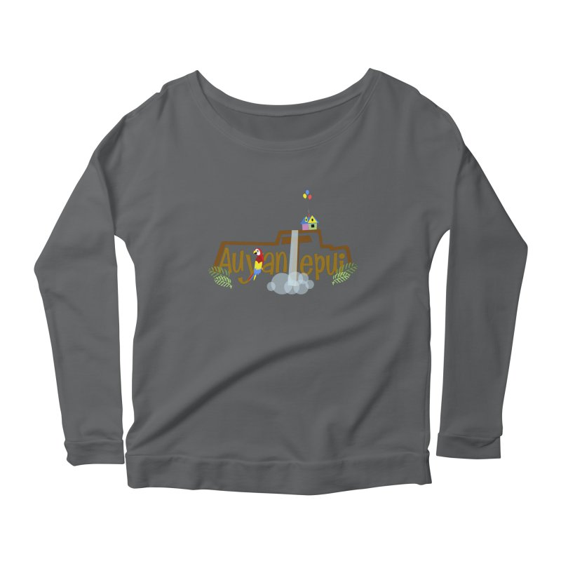 AuyanTepui Women's Scoop Neck Longsleeve T-Shirt by PickaCS's Artist Shop