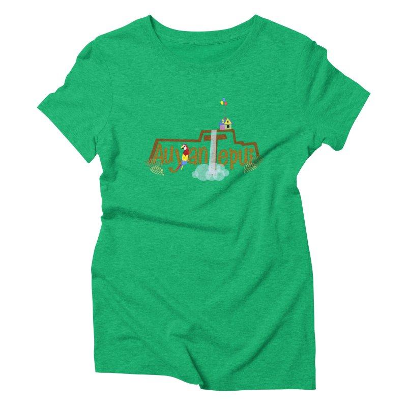 AuyanTepui Women's Triblend T-Shirt by PickaCS's Artist Shop