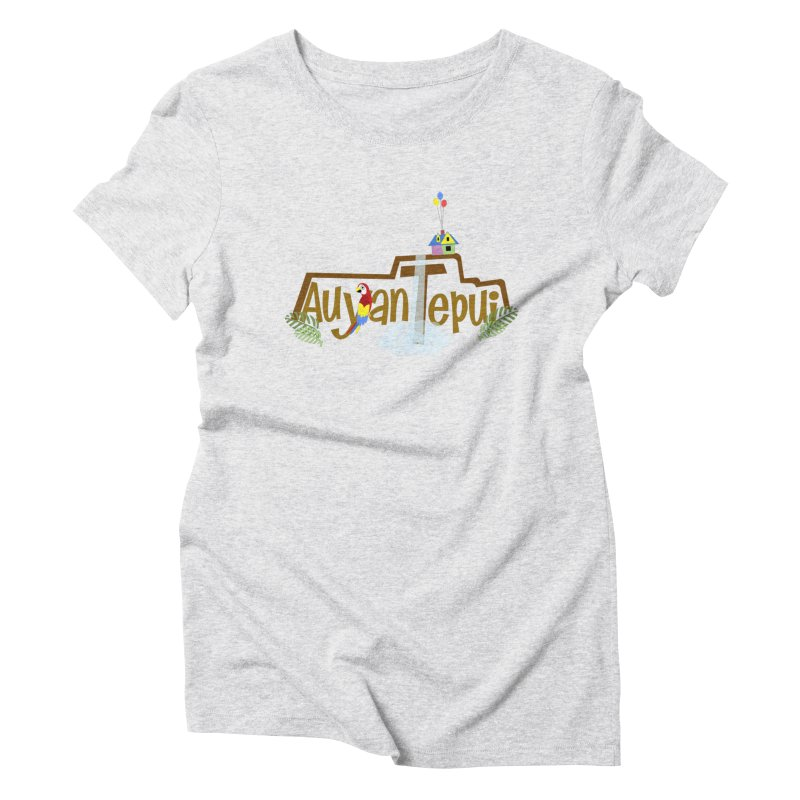 AuyanTepui Women's Triblend T-Shirt by PickaCS's Artist Shop