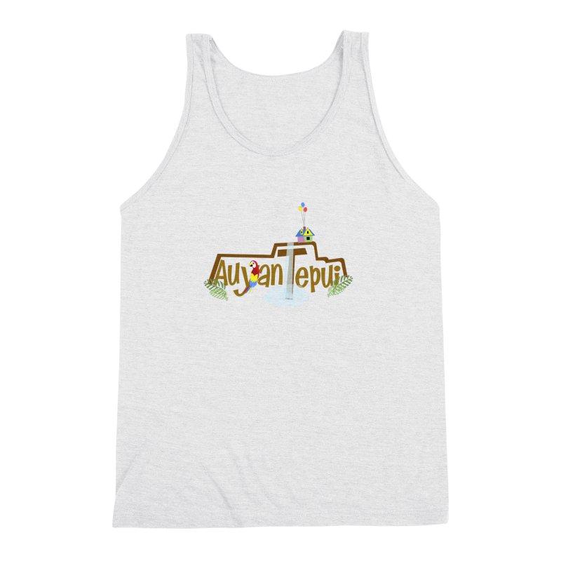 AuyanTepui Men's Triblend Tank by PickaCS's Artist Shop