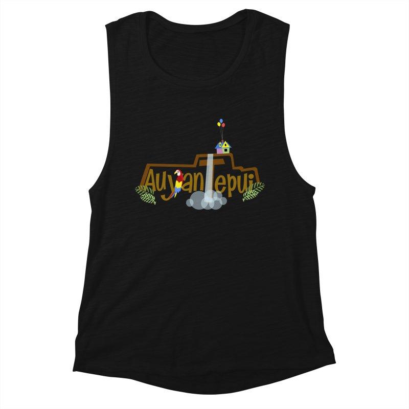 AuyanTepui Women's Muscle Tank by PickaCS's Artist Shop