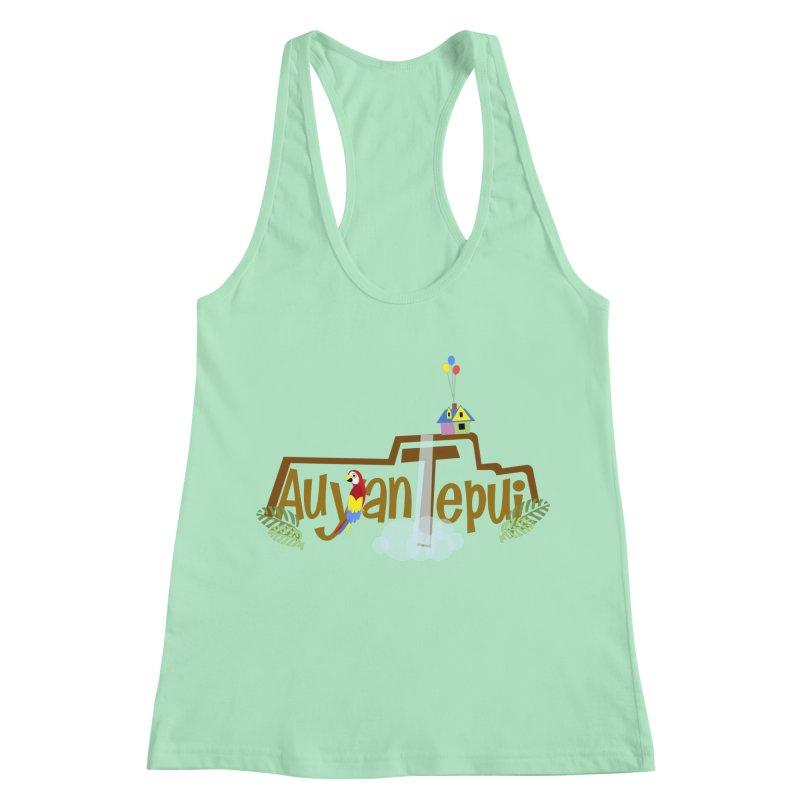AuyanTepui Women's Racerback Tank by PickaCS's Artist Shop