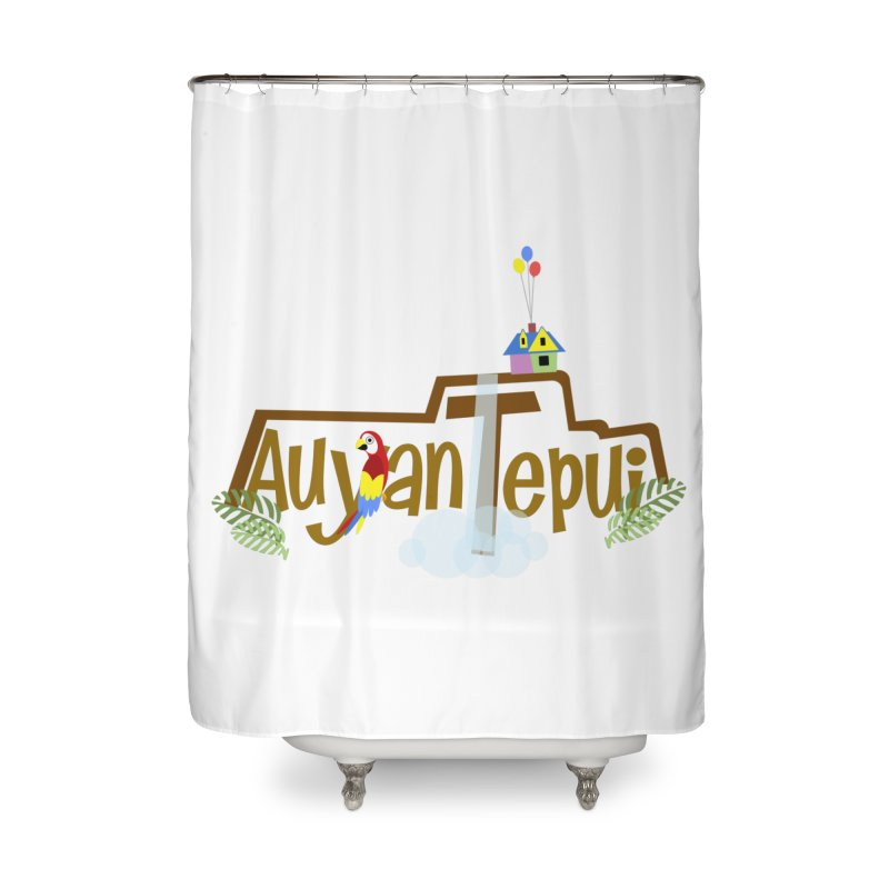 AuyanTepui Home Shower Curtain by PickaCS's Artist Shop