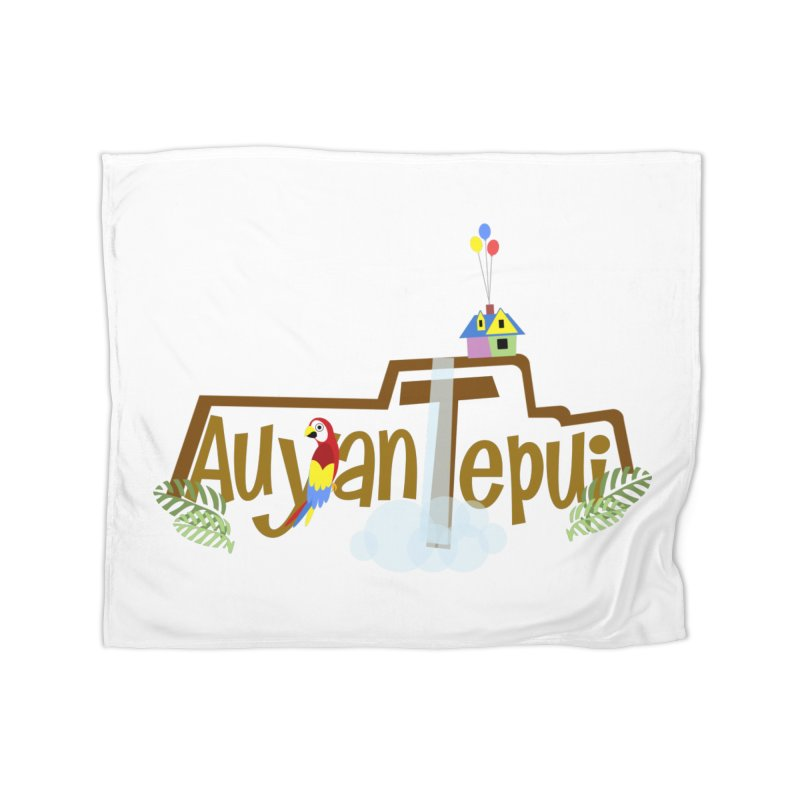 AuyanTepui Home Fleece Blanket Blanket by PickaCS's Artist Shop