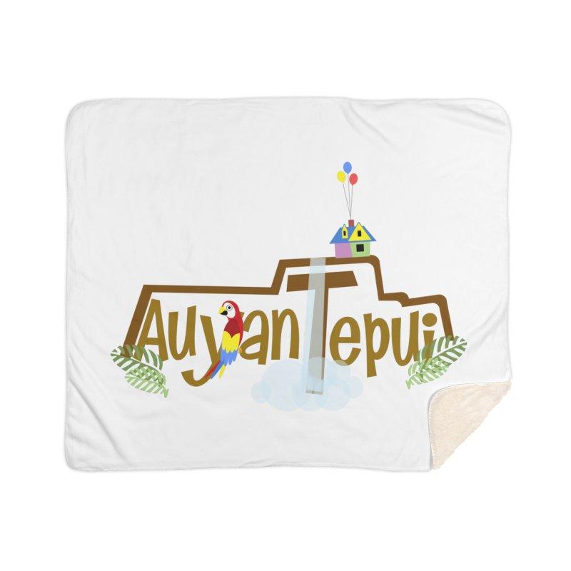 AuyanTepui Home Sherpa Blanket Blanket by PickaCS's Artist Shop