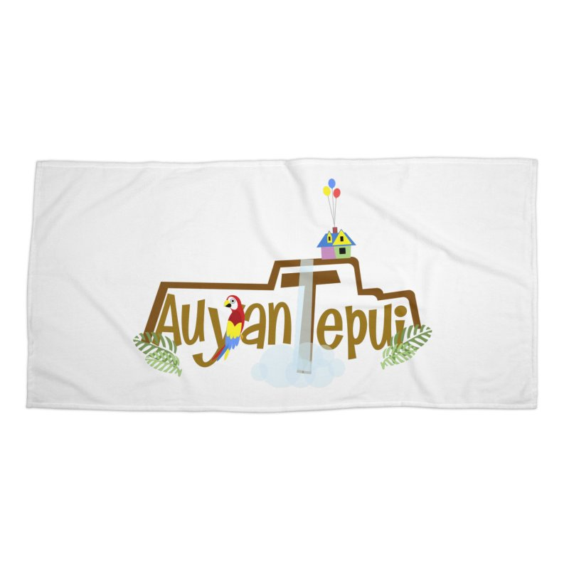 AuyanTepui Accessories Beach Towel by PickaCS's Artist Shop