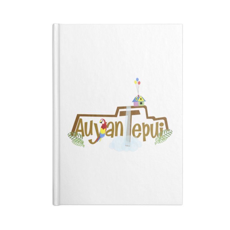 AuyanTepui Accessories Lined Journal Notebook by PickaCS's Artist Shop