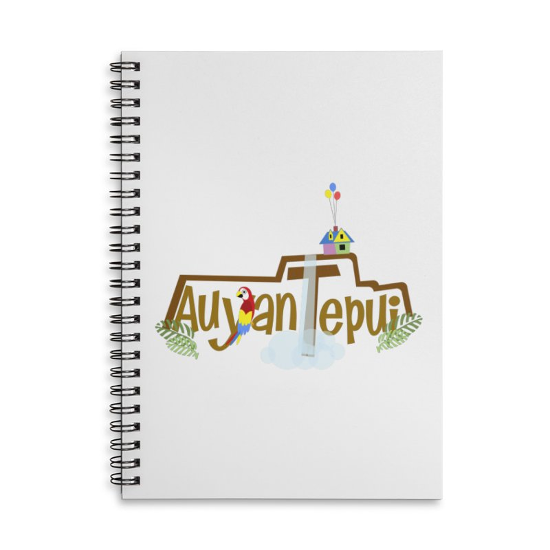 AuyanTepui Accessories Lined Spiral Notebook by PickaCS's Artist Shop